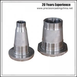 Machined Malleable Iron Silica Sol Lost Wax Investment Casting