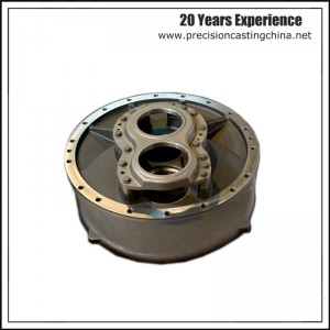 Machined Parts Carbon Steel Precoated Sand Casting Vehicle Parts