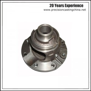 Machined Parts Grey Iron Solid Investment Casting Engineering Machinery Parts