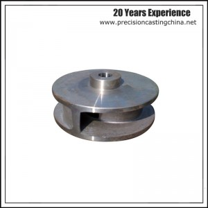 Machined Stainless Steel Impeller Casting Lost Foam Casting Process