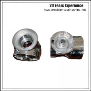 Machined Stainless Steel Investment Castings Pump Housing