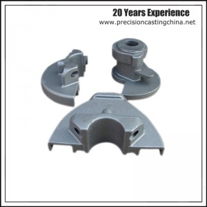 Construction Machine Parts Spherical Graphite Cast Iron Investment Casting