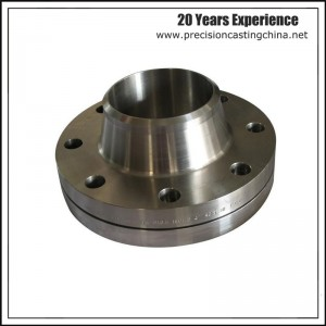 Machining Butt Welding Flange Precision Investment Casting in Alloy and Chrome Steel