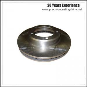 Machining Precision Casting Brake Plate Brake Disc Alloy Steel