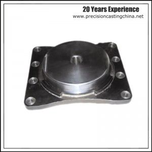 OEM Railway Casting Parts Solid Investment Casting Carbon Steel