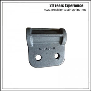 Iron Railway Train Casting Parts Solid Investment Casting