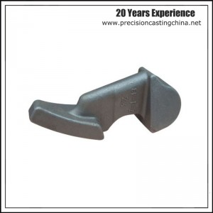 Solid Investment Casting Water Pump Spare Parts Components