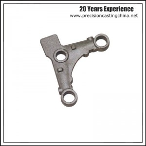 Mild Steel Auto & Motor Casting Parts Soluble Glass Casting Automotive Support Bracket