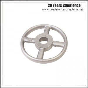 Cold Forging Aluminum Pulley Resin Coated Sand Casting