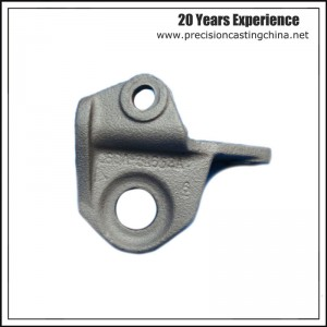 Forged Bracket Ductile Iron Soluble Glass Casting Engine Components