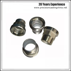 Forged Joint Head Machinery Parts Alloy Steel 4150