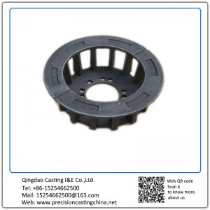 Carbon Steel Wheel Carrier Wheel Frame with Flanges Hot Forging Process