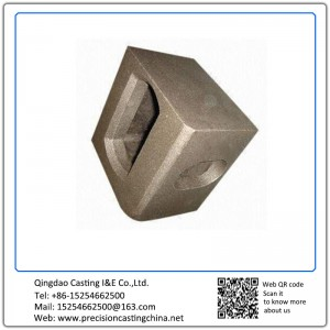 Cast Nodular Iron Container Hanger Hot Forged Part
