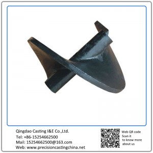 Malleable Iron Mining Casting Parts Silica Sol Lost Wax Investment Casting
