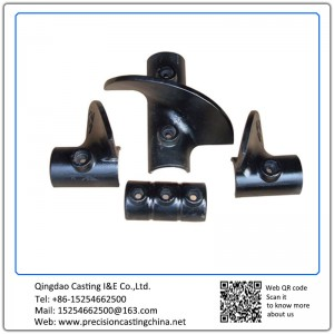 ASTM DIN Standard Agricultural Machinery Parts Nodular Iron Investment Casting Turbine Blades