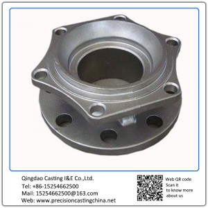 Alloy Steel Pipe Fittings Spare Parts with Machining Double Flange Precision Casting