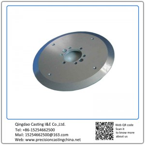 Aluminum and Zinc Castings Tray with Machining