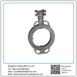 Butterfly Valve Shell with Machining Carbon Steel Resin-bonded Sand Casting