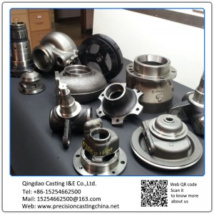 Alloy Steel Resin Sand Casting Machine Parts