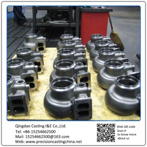 Alloy Steel Waterglass Casting Vehicle Parts Turbocharger