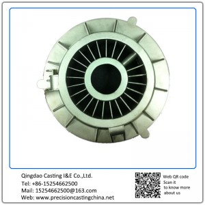Aerospace  Outlet Housing  Steel Clay Sand Casting
