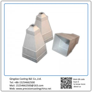 Aerospace Industries Spare Parts Malleable Iron Clay Sand Casting
