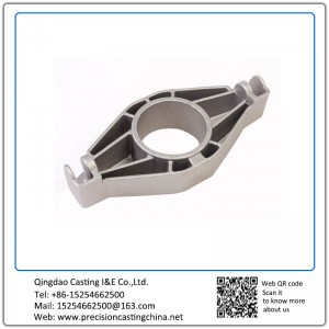 Grey Iron Clay Sand Casting Automobile Support Bracket