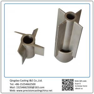 Customized ASTM DIN Standard Impeller Blade Resin-bonded Sand Casting Carbon Steel