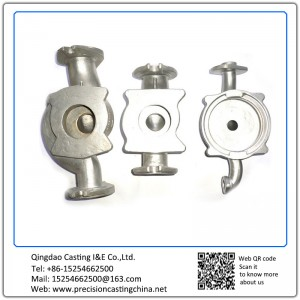 Valve Housing Resin Sand Casting Spherical Cast Iron