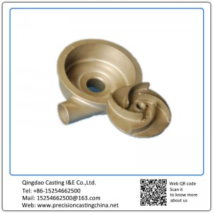 ASTM DIN Standard Assembled Pump Case Alloy Steel Investment Casting