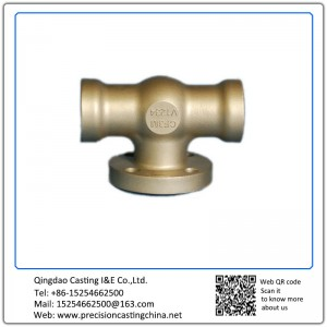 ASTM DIN Standard Auto Cooling System Water Pump Components Soluble Glass Casting Nodular Iron