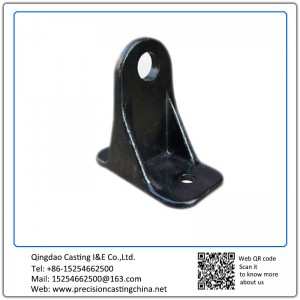 Automotive Support Frame Cast Nodular Iron Solid Investment Casting
