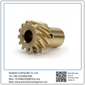 Bronze Investment Casting Automotive Components Gears