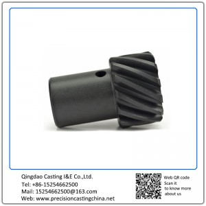ASTM DIN Standard Custom Made Carbon Steel Composite Gear Auto Parts Investment Casting Engine Components