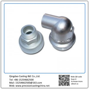 Concrete Pump Pipe Spare Parts Investment Casting Grey Iron