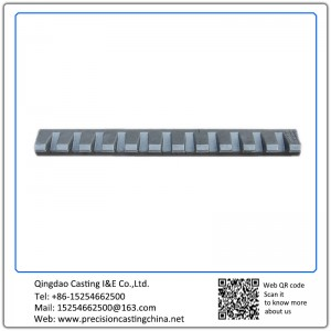 Construction Machine Parts Alloy Steel Solid Investment Casting
