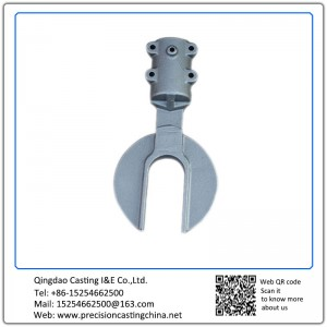 ASTM DIN Standard Custom Made Construction Machine Parts Carbon Steel Soluble Glass Casting