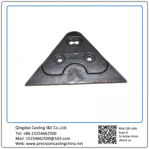 ASTM DIN Standard Custom Made Construction Machine Parts Investment Casting