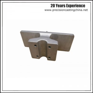 Cast Nodular Iron Construction Spare Parts Precision Casting