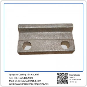 Construction Machine Parts Solid Investment Casting Train Parts