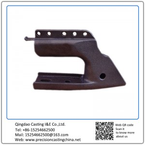 Construction Machine Parts Spherical Cast Iron Shell Mould Casting