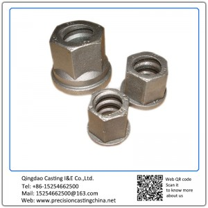 Construction Machine Parts Spherical Cast Iron Solid Investment Casting
