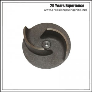 Casting Iron Impeller Pump Spare Part