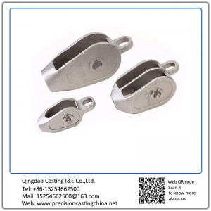ASTM DIN Standard Custom Made Pulley Shell Grey Iron Solid Investment Casting