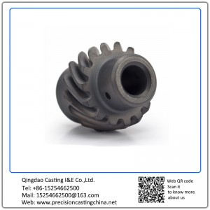 ASTM DIN Standard Custom Made Steel Investment Casting Auto Parts Gears Engine Components
