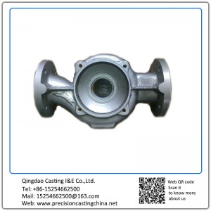 Steel Nalve Housing Investment Casting Pipe Fittings Parts
