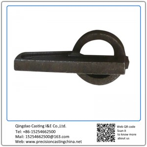 Tooling Spare Parts Mild Steel Soluble Glass Casting