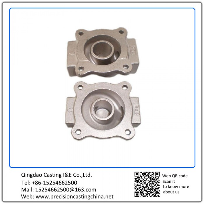 Zinc Plated Waterglass Casting Stainless Steel Auto Parts Ap