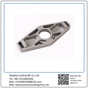 Mild Steel Precoated Sand Casting Automotive Support Bracket Components