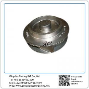 Mild Steel Shell Mould Casting Pump Impeller Components